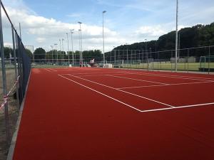 Smashcourt Tennisbaan